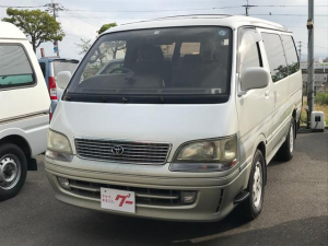 トヨタ ハイエースワゴン リビングサルーンEX 4ナンバー登録 HDDナビ テレビ