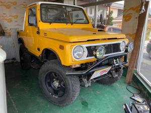 スズキ ジムニー  改造車 4WD オーディオ付 4名乗り イエローII