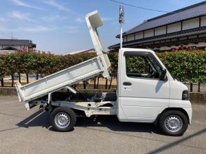 三菱 ミニキャブトラック ダンプ 低床ダンプ PTO機械式 4WD AC 5速ミッション