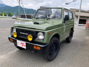 スズキ ジムニー HC 4WD AW オーディオ付 4名乗り グリーン