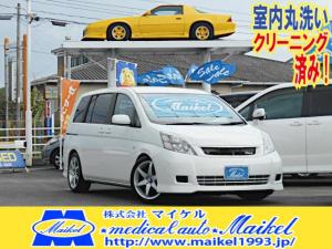トヨタ アイシス L HDDナビ エアロ パワースライドドア 17AW