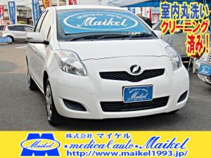 トヨタ ヴィッツ F ワンオーナー CD ナビ新品 センターメーター キーレス