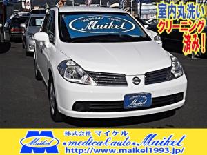 日産 ティーダラティオ 15S インテリキー CD ナビ新品 電格ミラー