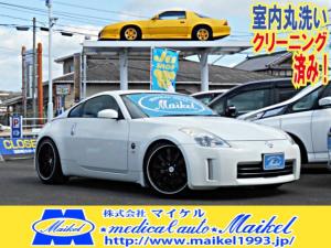 日産 フェアレディZ ベースグレード 19AW 車高調 ナビ DVDビデオ再生