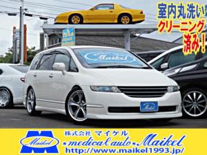 ホンダ オデッセイ L エアロ・19AW・車高調・HDDナビ・CD録音・スマキー