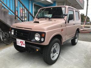 スズキ ジムニー XL 4WD 5速ミッション 背面タイヤ アルミ
