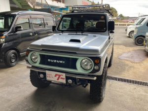 スズキ ジムニー ワイルドウインド 4WD ETC AT AC AW フォグ 背面タイヤ