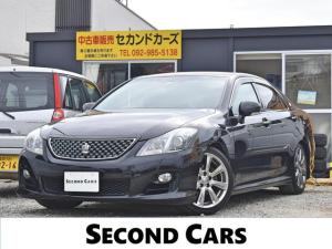 トヨタ クラウン 2.5アスリート ナビパッケージ ナビ・フルセグテレビ・バックモニター・ETC・車高調・スマートキー