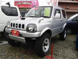 スズキ ジムニー XC 4WD リフトアップ ターボ 社外マフラー アルミ