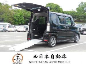 ホンダ N-BOX+カスタム G福祉車両スローパー ナビ TV DVD BT