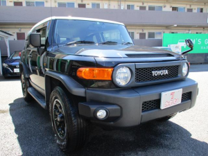 トヨタ FJクルーザー ブラックカラーパッケージ 禁煙車 純正ナビ フルセグ Bカメラ 集中ドアロック クルコン Bluetooth接続 Fドラレコ