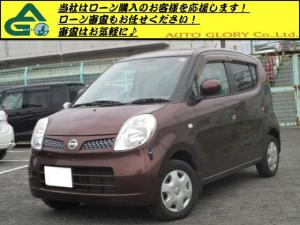 日産 モコ E ショコラティエ タイミングチェーン車/オートエアコン/パワステ/インテリキー/電動格納ミラー/ベンチシート