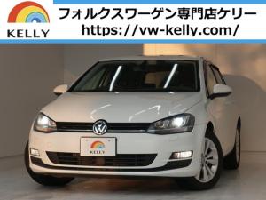 フォルクスワーゲン ゴルフ TSIコンフォートライン スペアキー/タイヤ山有/ナビTV