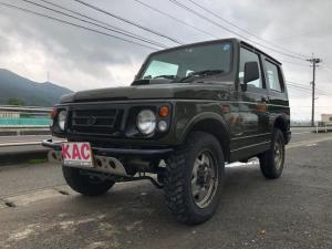 スズキ ジムニー HA ターボ 4WD 全塗装オリーブドライブ仕上げ済