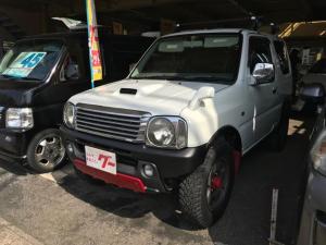 スズキ ジムニー クロスアドベンチャー バックキャリアー メッキグリル メッキドアミラーカバー リフトUP パートタイム4WD キ-レス アルミ ABS エアコン