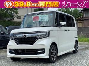 ホンダ N-BOXカスタム G・Lホンダセンシング 軽減ブレーキ キ-フリ- 保証付