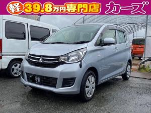 三菱 eKワゴン E 衝突安全ボディ シートヒータ キ-レス ABS 保証付