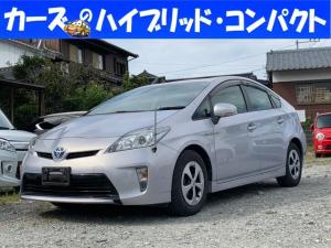 トヨタ プリウス S テレビ スマ-トキ- バックカメラ付き SDナビゲーション i-stop