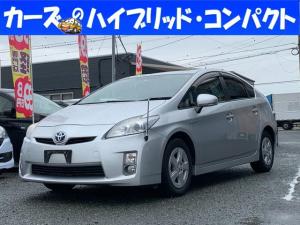 トヨタ プリウス S スマ-トキ- バックカメラ付き i-stop HDDナビ 衝突安全ボディ
