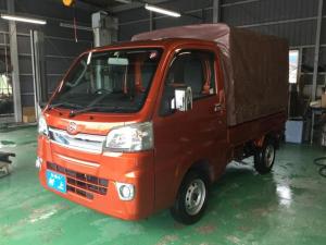 ダイハツ ハイゼットトラック エクストラ 純正スライド式幌 社外ナビ・TV