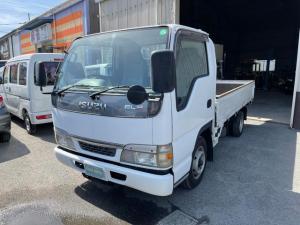 いすゞ エルフトラック フラットロー 1.5t ディーゼル AT ETC 買取車