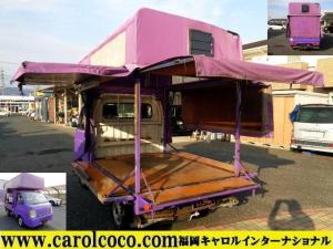 スズキ キャリイトラック FCキッチンカー・移動販売車ベース 照明 換気扇 固定装置