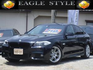 BMW 5シリーズ 528i Mスポーツパッケージ・純正マルチ・黒革シート・D車