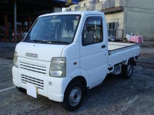 スズキ キャリイトラック KCエアコン・パワステ 4WD 5MT 荷台ゴムマット