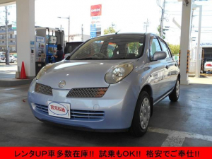 日産 マーチ 12c キーレス ETC 電動格納ミラー CD レンタUP