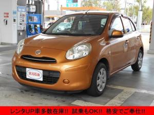 日産 マーチ 12X プッシュスタート ETC 電動格納ミラー CD レンタUP