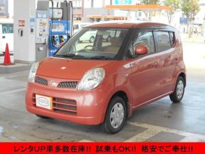 日産 モコ E スマートキー ETC ベンチシート 電動格納ミラー CD クリアランスソナー レンタUP