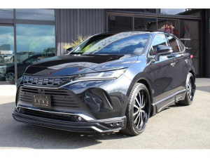 トヨタ ハリアー Z ZEUS 新車コンプリートカー車高調22インチバージョン