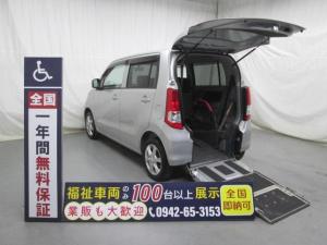 スズキ ワゴンR スロープ1台積4人乗り 福祉車両 一年保証