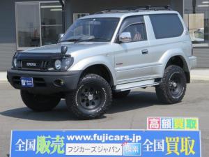トヨタ ランドクルーザープラド RXリフトアップ SR SDナビ 社外16AW