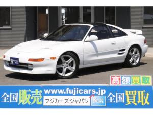 トヨタ MR2 GT Tバールーフ マフラー KTSサスペンション レカロシート 社外17インチアルミホイール momoステアリング リトラクタブル DVDナビ ETC