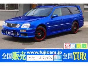 日産 ステージア 25t RS FOUR V MT載替公認済 ベイサイドブルー全塗装 BLITZインタークーラー エアロ HKSエアクリ 社外マフラー 社外18インチAW タワーバー リアスポイラー キーレス ETC