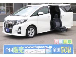 トヨタ アルファード S ウェルキャブ サイドリフト/サンルーフ/後席モニター