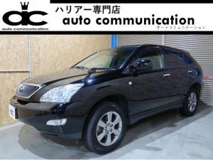 トヨタ ハリアー 240G Lパッケージ 後期 黒革 HDDナビ 1年保証