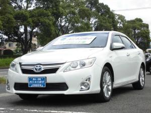 トヨタ カムリ ハイブリッド Gパッケージお買い得価格 BIuetooth