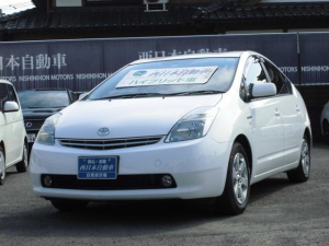 トヨタ プリウス S ワンオーナー車 バックカメラ ナノイー発生器 スペアキー スマートキー 純正HDDナビ ETC オートエアコン フォグランプ オートライト 純正CDMD