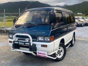 三菱 デリカスターワゴン エクシード 2.5ディーゼルターボ クリスタルライトルーフ 4WD 4AT