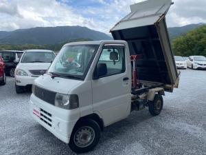三菱 ミニキャブトラック ダンプ エアコン パワステ 4WD ダンプ機能