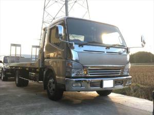三菱ふそう キャンター 2.7t積載車 ユニックNEO5 HDDナビ