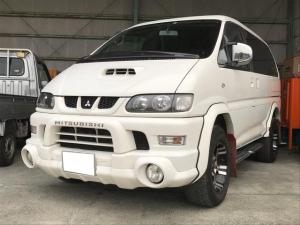 三菱 デリカスペースギア シャモニー スライドドア ナビ バックカメラ 4WD AW