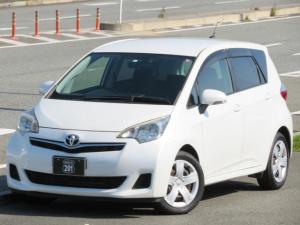 トヨタ ラクティス G 走行58600Km SDナビ4X4フルセグDVD可 Bluetooth USB接続 ETC スマートキー HID オートライト オートエアコン 車検整備2年付
