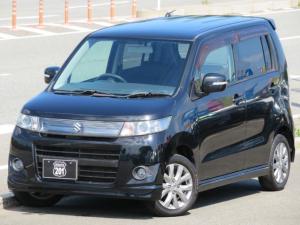 スズキ ワゴンRスティングレー リミテッド ワンオーナー 後期モデル SDナビ4X4フルセグDVD可 Bluetooth スマートキー ハーフレザーシート オートエアコン オートライト 車検整備2年付 コーティング施工車 タイミングチェーン