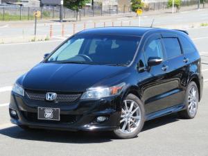 ホンダ ストリーム RSZ Sパッケージ 後期モデル 2オーナー アルパインHDDナビ4X4フルセグDVD走行中可 Bluetooth 社外スピーカー ETC オートライト オートエアコン キーレス HID タイミングチェーン 車検整備2年付
