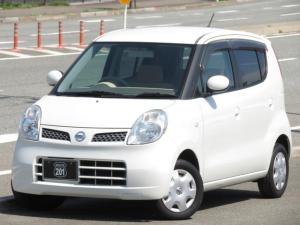 日産 モコ E 新品O2センサー前後交換済 オートAC スマートキー タイミングチェーン 走行テストOK 取説 車検整備2年付