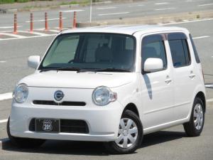 ダイハツ ミラココア ココアL 内外装程度良好車検整備2年付 キーレス スペアキー タイミングチェーン 人気のパールホワイト