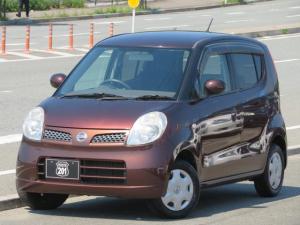 日産 モコ E ショコラティエ 新品タイヤ4本交換済 SDナビ4X4フルセグDVD走行中可USB ETC オートエアコン オートライト スマートキー 車検整備2年付 タイミングチェーン